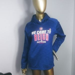 Majestic Chicago Cubs hooded sweatshirt